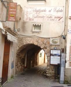 Centro histórico de Ravello, Itália