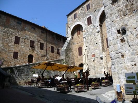 Restaurante em San Gimignano