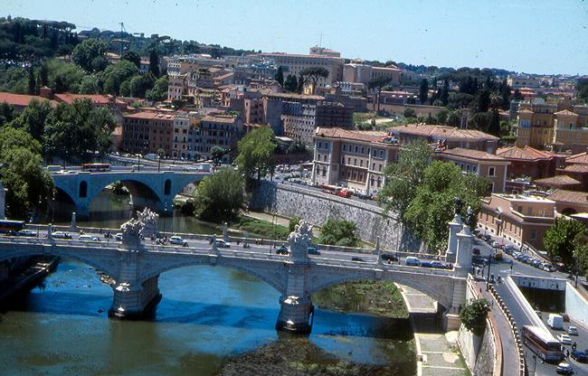 Rio Tibre, Roma, Itália
