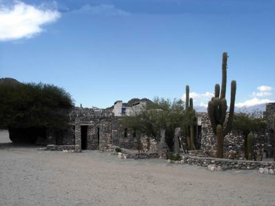 Ruínas, cidadedela dos índios Quilmes