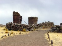 Ruínas de Silustani, Puno, Peru