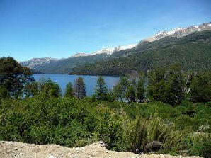 Ruta de los Siete Lagos perto de San Martin de los Andes