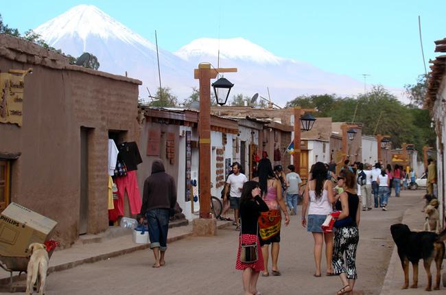 San Pedro de Atacama, rua principal