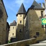 Sarlat, cidade medieval, França