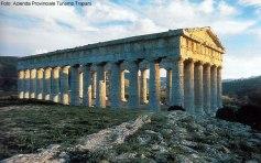 Templo em Segesta, Sicília, Itália