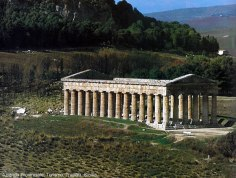 Segesta, na Sicília, Itália