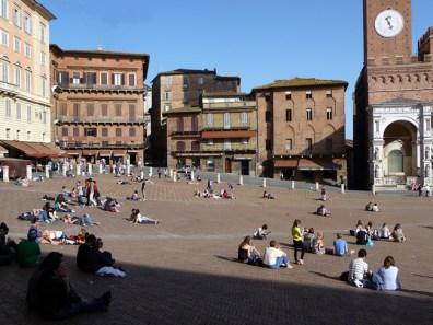 Siena, cidade medieval na Toscana, Itália