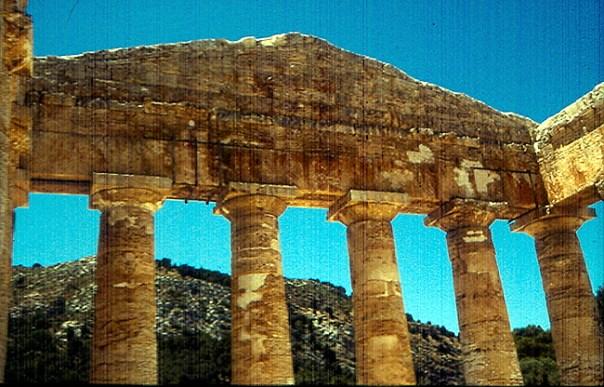 Templo da época grega, próximo a Agrigento