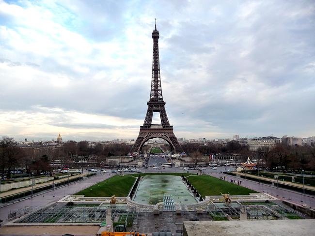 Torre Eiffel, bairro de Trocadéro, Paris