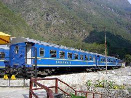 Trem que liga Cusco a Machu Picchu - Foto Manual do Turista