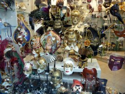 Veneza, máscaras para o Caranaval