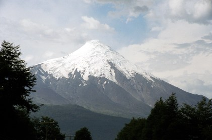 Villarrica, no sul do Chile