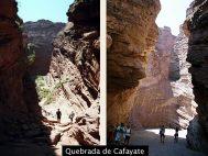Canyons na Quebrada de Cafayate