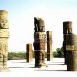 Ídolos de Tuula, pré-colombianos no México