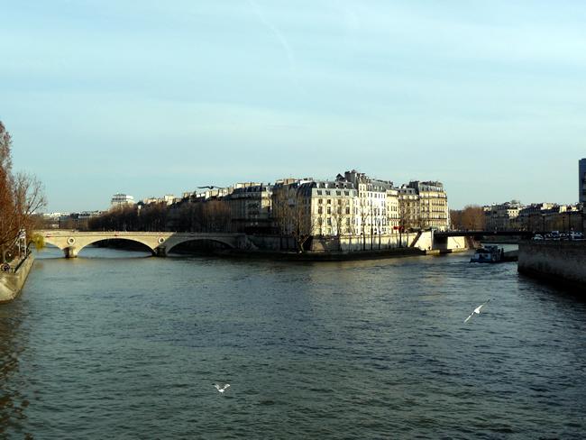 Île Saint-Louis, em Paris