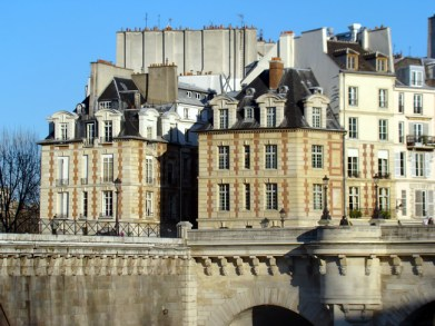 Île de la Cité em Paris, na França