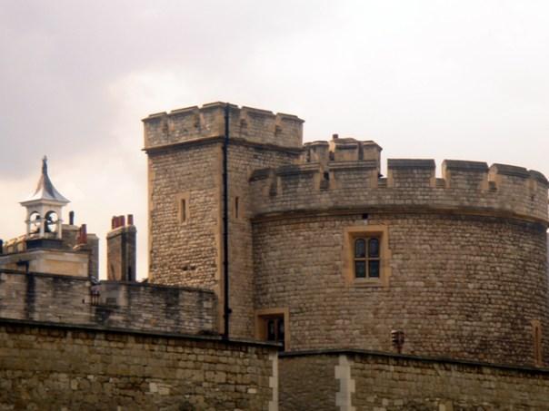 A medieval Torre de Londres