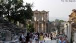Acesso à Biblioteca de Celso, Éfeso, Turquia