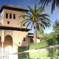 Conjunto de Alhambra, em Granada, Espanha