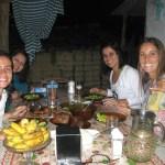 Almoço na casa de D. Maris