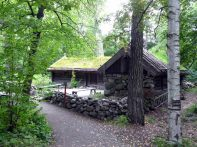 Antiga residência rural, Suécia