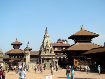 Durbar Square, Bhaktapur, Nepal