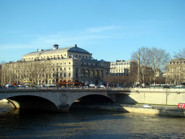 Bairro de Châtelet, Paris, França