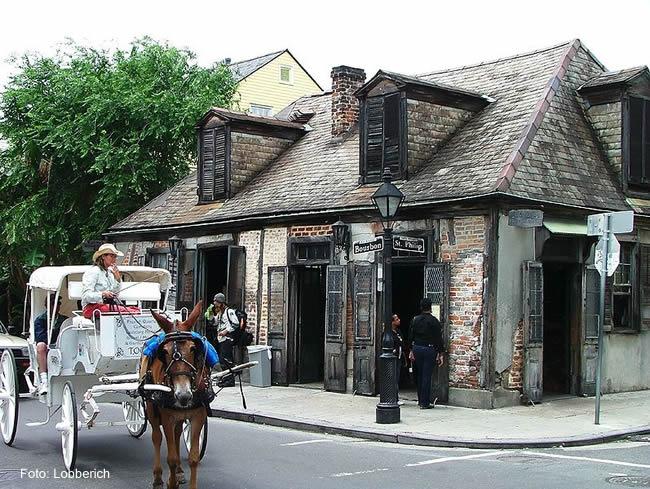 Bourbon Street, New Orleans,Foto: Lobberich