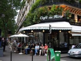 Café Flore, em St-Germain