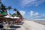Canavieras, praia da costa na Bahia
