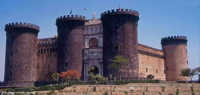 Castel Ovo, Nápoles, Campania