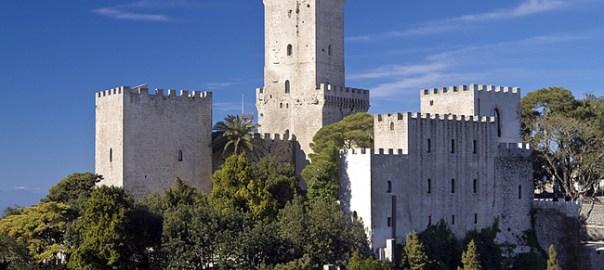 Castelo de Erice, Sicília, Itália