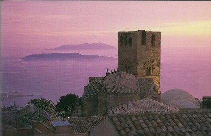Castelo medieval de Erice, na Sicília