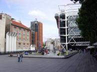 Centre Georges Pompidou, Les Halles, Paris