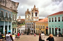 Centro Histórico de Salvador no Estado da Bahia