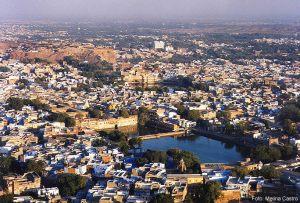 Centro de Udaipur, Rajastão, Índia