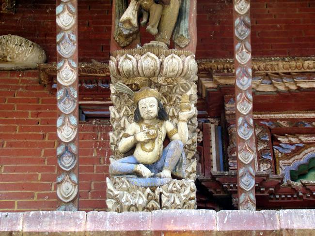 Changu Narayan, no Himalaia, Nepal