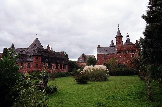 Collonges la Rouge, Limousin, France