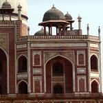 Construções mogois, interior do Red Fort, Delhi