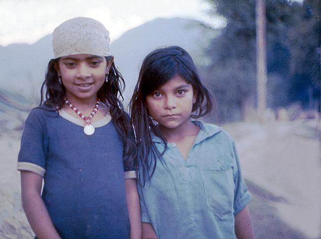 Crianças na Cachemira