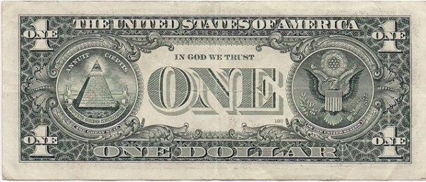 Nota de um dolar