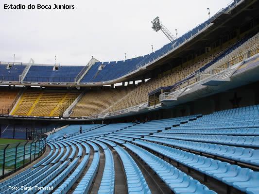 Estadio do Boca Juniors em Buenos Aires, Foto de Sérgio Formazari