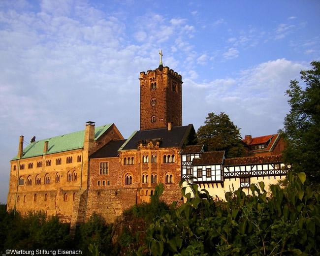 Eisenach Wartburg, na Alemanha