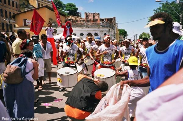 Festa popular em Salvador