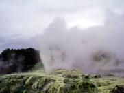 Gêiser em Rotorua, Ilha do Norte