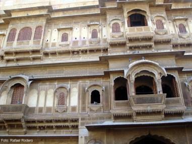 Haveli em Jaisalmer, Rajastão, Índia