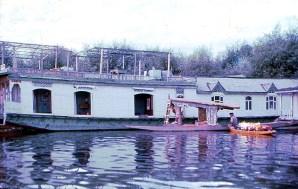 House Boat na Cachemira
