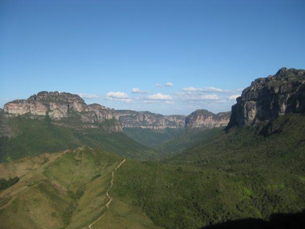 Formações rochosas da Chapada dos Guimarães BA