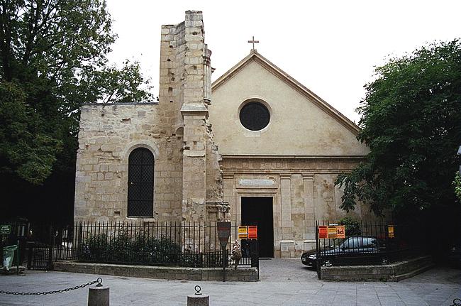 Igreja de St-Julien le Pauvre, Paris