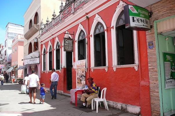 Ilheus, Bahia, Rua Jorge Amado